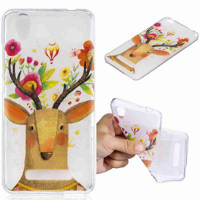 Deer Pattern Soft TPU Case for ZTE Blade D2