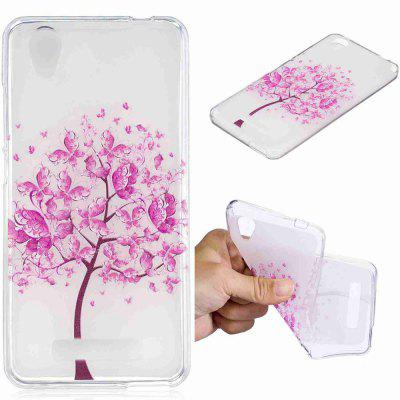 Butterfly Tree Pattern Soft TPU Case For ZTE Blade D2