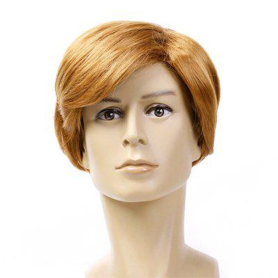 Male Short Straight Handsome Wig