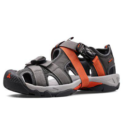 HUMTTO Men's Outdoor Sneakers Summer Lightweight Closed Toe Beach Shoes Sandals