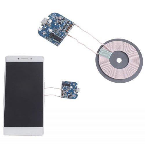 Qi Standard Coil Wireless Charger Module Transmitter Base