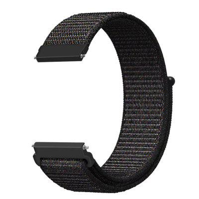 Woven Nylon Loop Wristband Strap For Moto 360 2nd Gen 46MM Watch