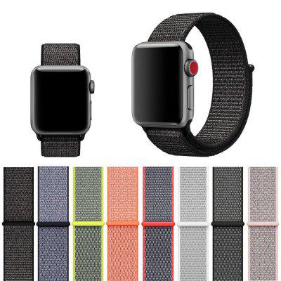 Woven Nylon Wrist Band Strap for Apple Watch Series 4 3 2 1 38MM / 40MM