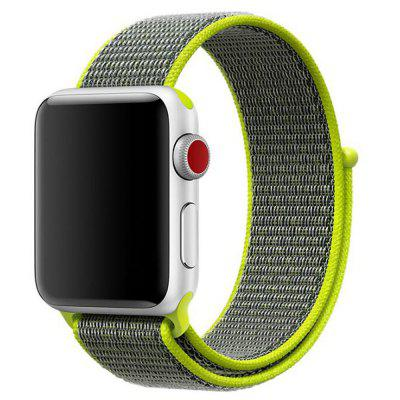 Gewebtes Nylon Armband für Apple Watch Serie 4 3 2 1 38 MM / 40MM