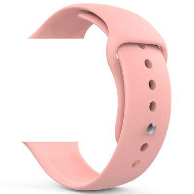 Silicone Wristband Strap for Apple Watch Series 4 3 2 1 38MM / 40MM