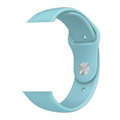 Sport Silicone Wristband Strap for Apple Watch Series 4 3 2 1 42MM / 44MM