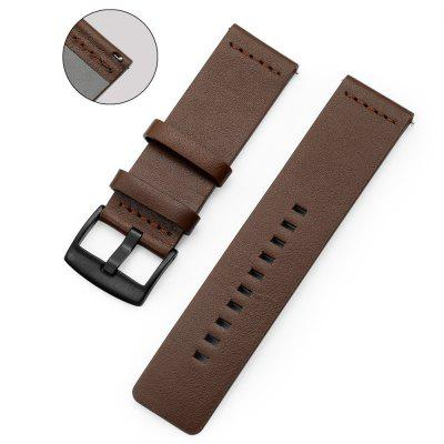 Genuine Leather Watch Band Strap For Xiaomi Huami Amazfit Stratos 2 Pace