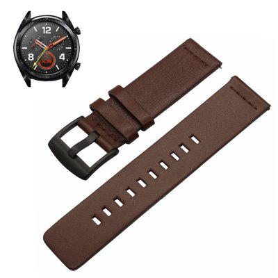 Genuine Leather Watch Band Strap For Huawei Watch GT / Magic / 2 Pro