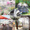 Outdoor Atomization Cooling System for Terrace /Garden /Trampoline /Water Park - BLACK