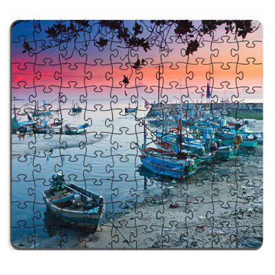 Jigsaw Paper Puzzle colorat Puzzle Soft Block Adunarea Toy Birthday
