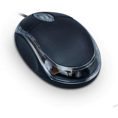USB Wired Computer Small Mouse Optical-electronic Mouse for Notebook Desktop