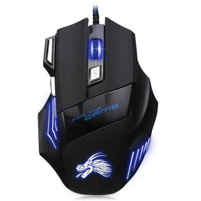 Black  USB Wired Optical Gaming Mouse