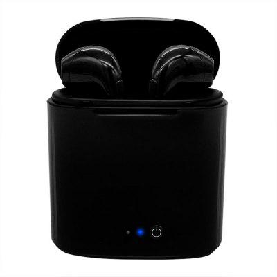 Twin Bluetooth Headset with Charging Case for iPhone X