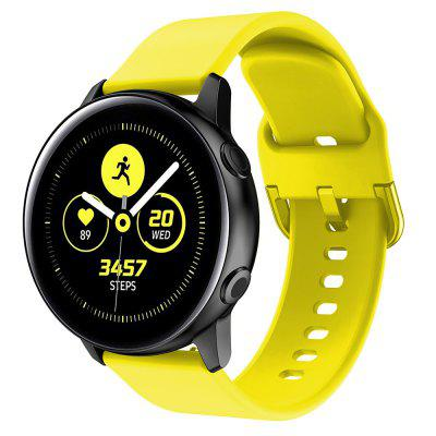 Sport Silicone Watch Band Wrist Strap for Samsung Galaxy Watch 42MM / Active
