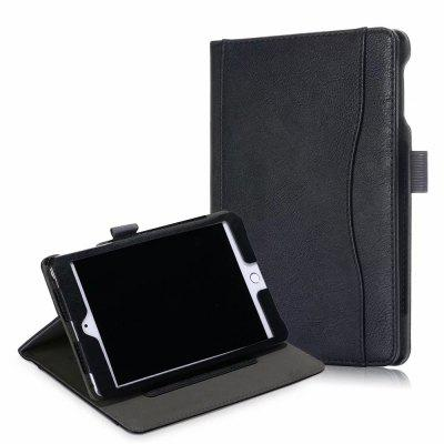 Tablet Cover with Case Sleep and Document Card Slots for iPad Mini 5 / 4