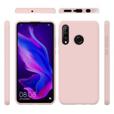 Liquid Full Cover Silicone Phone Case for Huawei P30 Lite
