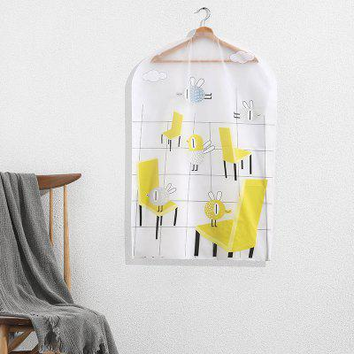 Small Printing Dust-Proof Hang Clothes Storage Bag