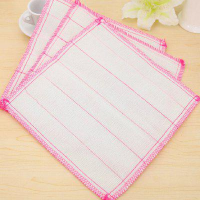 Non Woven Fabric Add Cotton De-Oiling Scouring Pad 5PCS