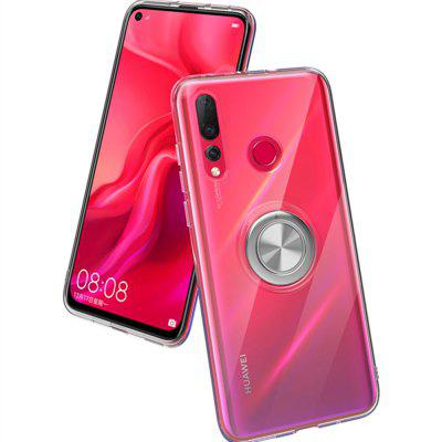 360 Degree Ring Clear Soft TPU Phone Case for Huawei Nova 4