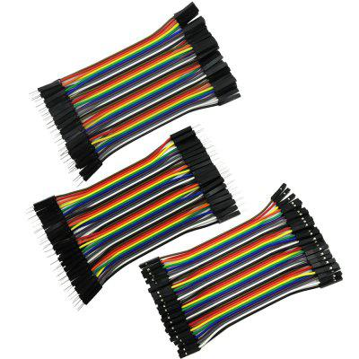 10cm Color Breadboard Jumper Cable Wire 40Pcs