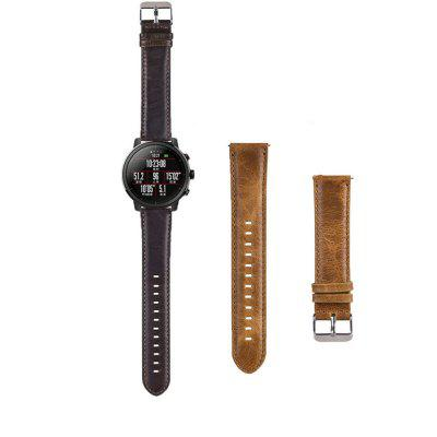 Leather Watch Band Wrist Strap for Xiaomi Huami Amazfit Stratos 2 Pace