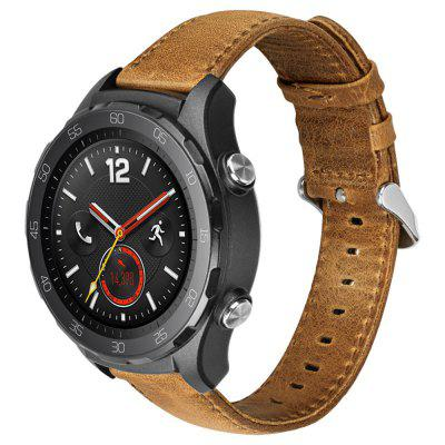 Leather Watch Band Wrist Strap for Huawei Watch 2 Sport