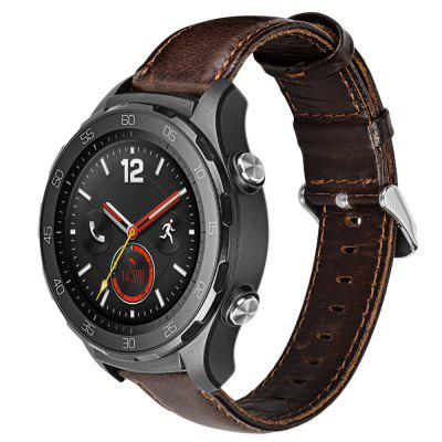 Leather Watch Band Wrist Strap for Huawei Watch GT / Honor Magic / 2 Pro