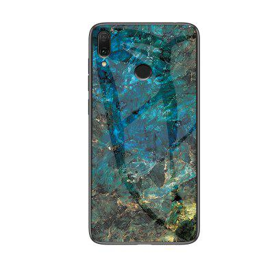 Marble Shockproof Slim Back Glass Phone Case for Xiaomi Redmi Note 7