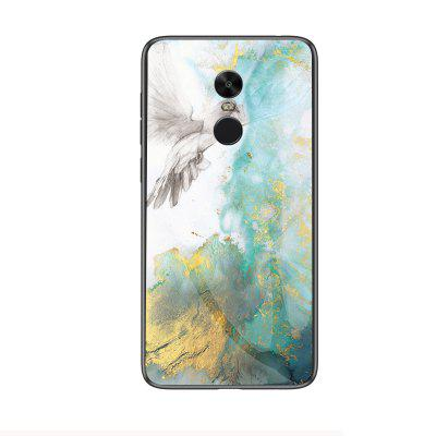 Marble Shockproof Slim Back Glass Phone Case for Xiaomi Redmi Note 4