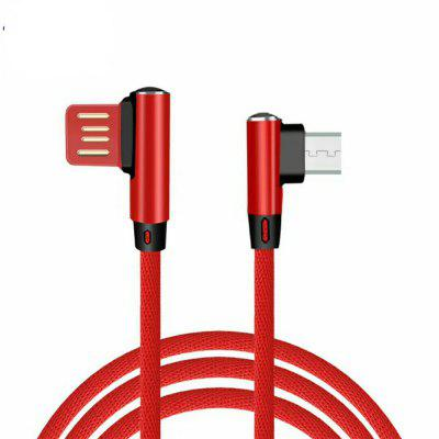 Cabo USB para Samsung Mobile Phone Fast Charger Cabos