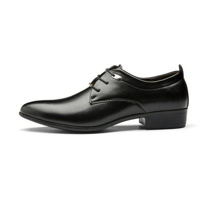 Men Business Pointed British Style Casual Shoes