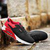 Summer Youth Sports Low Top Breathable Mesh Running Shoes for Men - RED