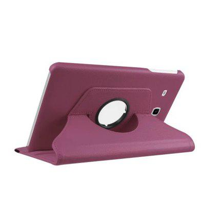 Tablet Case 360 Degree Rotating PU Leather Stand Case Cover for Samsung T560