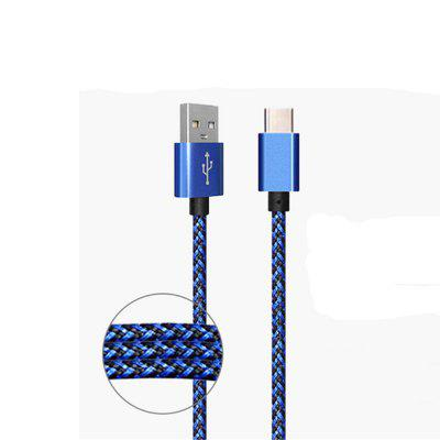 Yeshold 1M 2A Wired C Android-telefoon Snel opladen datalijn