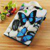 Blue Butterfly Painted Tablet Leather Case for iPad Mini 1/2/3/4/5 - MULTI