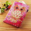 Cherry Blossom Seashell Owl Painted Tablet Leather Case for iPad Mini 1/2/3/4/5 - MULTI