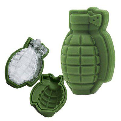 Personality Grenade Silicone Mold Ice Cube Cake Decoration Baking Mold