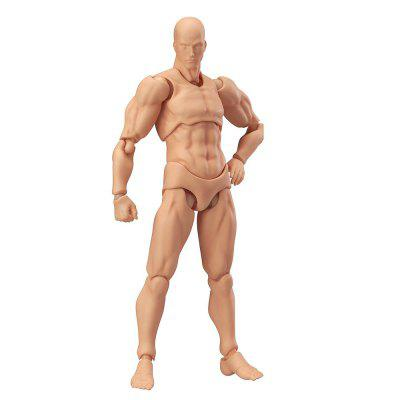 Man Body Doll Figure Model for Home Decoration