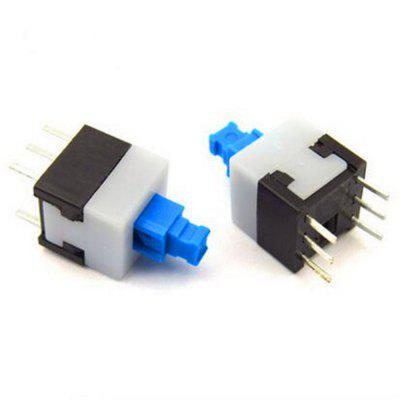 Auto-bloqueio / Non-auto-bloqueio / Unlocked 6-legged Switch 10pcs