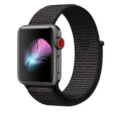 Woven Nylon Wrist Band Strap for Apple Watch Series 4 3 2 1 42MM / 44MM