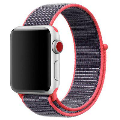 Bracelet en Nylon Tissé pour Apple Watch Séries 4 3 2 1 42MM / 44MM