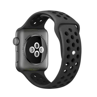 Pulseira de Silicone Esportiva para Apple Watch Series 4 / 3 / 2 / 1 42MM / 44MM