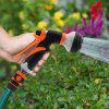 8-IN-1 Multi-Function Water Spray Gun - ORANGE