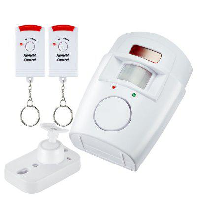 Senzor wireless de mișcare portabil IR wireless de la distanță Home Security Burglar Alarm System
