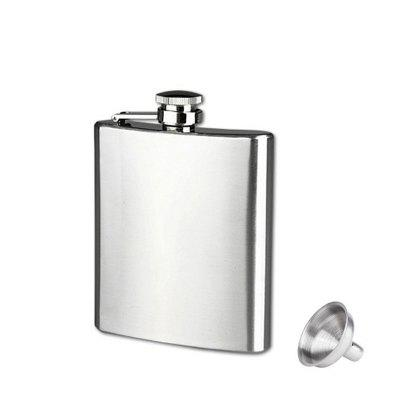 8oz Outdoor Portable Stainless Steel Leak Proof Hip Flask