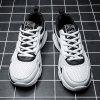 Summer New Casual Sports Breathable Shock-absorbing Running Shoes Men - WHITE