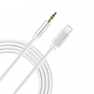 8-pins naar 3,5 mm jack-audiokabel voor iPhone