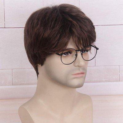 Handsome Face Repair Male Rose Net Wig