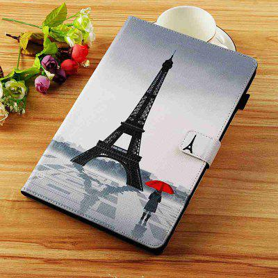 Tower Girl Painted Tablet Leather Case for iPad Mini 1/2/3/4/5