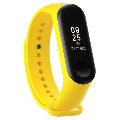 Bracelet Sport Strap Watch Silicone Wrist Strap For Xiaomi Mi Band 3